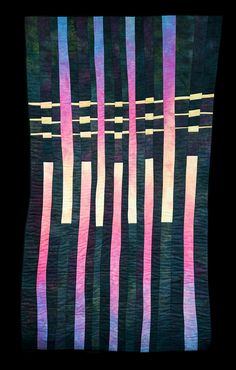 Architectural Reflections by Carolyn T. Abbott | art quilt