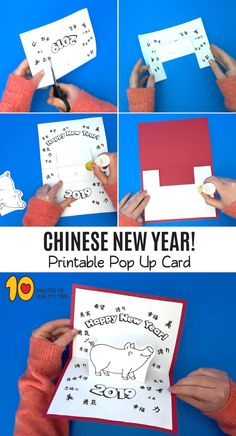 chinese new year activities for school Chinese New Year Activities, Chinese New Year Crafts, New Years Activities, Fun Activities For Kids, New Year's Crafts, Easy Arts And Crafts, Crafts To Do, Kids Crafts, Chineese New Year