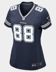 Jersey Femenino Nike NFL Dallas Cowboys Nº 88 - Dez Bryant