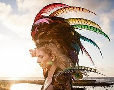 how to make feather mohawk - Google Search