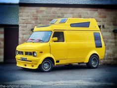 Ford V6, Bedford Van, Panel Truck, Cool Vans, Custom Vans, Derbyshire, Camper Van, Van Life, Hot Rods