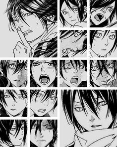 Faces of Yato (500×627)