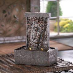 Peaceful Buddha Tabletop Water Fountain