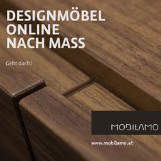 Die Designmöbel von MOBILAMO können online ganz einfach konfiguriert werden. Mit Hilfe des 3D-Konfigurators können Sie die Massmöbel ganz einfach nach Ihren Vorstellungen und Anforderungen anpassen. Sie bestimmen die genauen Maße, die Ausstattung und die Materialien und bekommen Ihr massgefertigtes Wunschmöbel nach Hause geliefert.