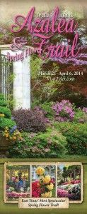 Everything to do for the 2014 Azalea and Spring Flower Trail in Tyler, Texas. So beautiful!
