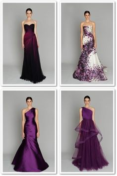 that third one.... Wonder how much fabric it would take, I guess my stash of 6 meters purple silk might not suffice