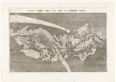 Comet Rijksmuseum Amsterdam via Europeana. Image Editor, Print Artist, Public Domain, Ciel, Astronomy, Past, Vintage World Maps, Moose Art, Germany