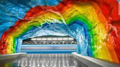 As 10 Estações De Metrô Mais Magníficas Do Mundo