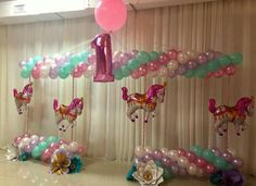 Carousel Balloon Decor
