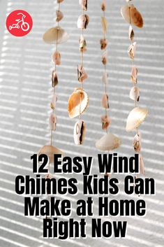 12 Easy Wind Chimes Kids Can Make at Home Diy Kid Crafts For Boys, Family Crafts, Diy For Kids, Craft Activities, Family Activities, Wind Chimes Kids, Making Friendship Bracelets, Red Tricycle, Hanging Hearts