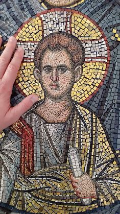 Roman Mosaics, Ancient Romans, Mosaic Art, Ikon, Mona Lisa, History, Illustration, Artwork, Religious Art