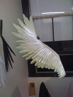 Fabulous paper feathers