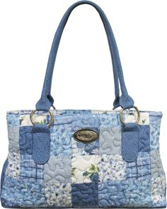 Precious Reese Bag by Donna Sharp. I have 2 Donna Sharp quilted bags. I love, LOVE them. I think this blue and white one should be next ~AF.