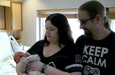 Misty Huddleson, center, and Steve Daniels watch over their son, Reese Daniels. Reese is the first baby born in the new year at Mary Greeley Medical Center. Photo by Dan Mika/Ames Tribune http://www.amestrib.com/news/20170102/8216he-likes-that-his-initials-spell-rad8217-meet-first-baby-born-in-2017-at-mary-greeley
