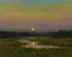 "Dennis Sheehan ""Moon Rising On A Summer's Eve"""