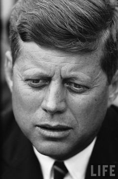 """JFK; will always consider him the best president of all time.  I love a quote he made when he first heard Martin Luther King, Jr., speaking on TV, and said, """"he is a very good speaker.""""  You think?  JFK was light years above his time"""