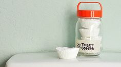 We've talked about the best ways to unclog a drain before, but these handy toilet-clearing tablets are helpful to have on-hand in case yours stops flushing the way it should. Plus, they're really easy to make.