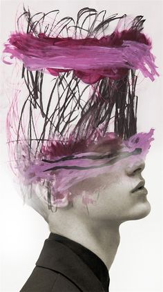 GIBUS BOY, ANTONIO MORA ~ a Spanish artist who combines with talent portraits photographed in various landscapes. Double Exposition, Number Art, Art Moderne, Graphic, Zine, Art Inspo, Collage Art, Painting & Drawing, Amazing Art