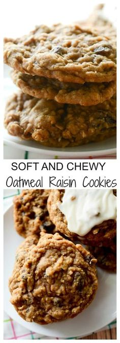 Sour Patch Kids Soft & Chewy Candy - Chewy Candy - Ideas of Chewy Candy - Soft and Chewy Oatmeal Raisin Cookies Chewy Candy Ideas of Chewy Candy Soft and Chewy Oatmeal Raisin Cookies Recipe Diaries Best Oatmeal Raisin Cookies, Soft Chewy Oatmeal Cookies, Oatmeal Rasin Cookie Recipe, Oatmeal Raison Cookies, Instant Oatmeal Cookies, Yummy Oatmeal, Raisin Cake, Healthy Oatmeal Cookies, Baking Recipes