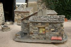 craftsman tuscany stones miniature house.jpg | Roberto Deri - Photography