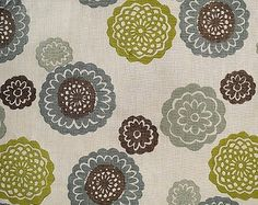 Zinnia Fabric by Galbraith and Paul in Sky - contemporary - upholstery fabric - Galbraith & Paul
