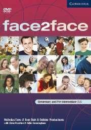 FACE2FACE ELEMENTARY AND PRE-INTERMEDIATE: Este DVD  presenta as dúas historias dos cd-roms do  libro de estudantes Elementary e Pre-intermediate en formato de DVD para que profesores utilicen na clase. SIGNATURA: DVD-T-2