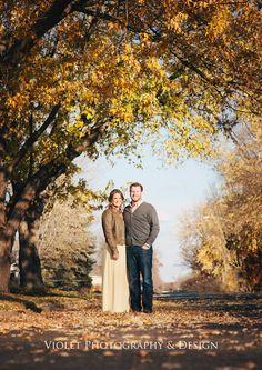 Fall Engagement Photo