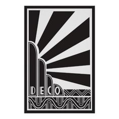 Art Deco style acted as a form of advertisement on its own. By the late advertising with Art Deco became more widespread with everything from departme. Estilo Art Deco, Arte Art Deco, Moda Art Deco, Art Deco Print, Art Deco Artwork, Art Deco Posters, Art Deco Paintings, Poster Prints, Art Deco Illustration
