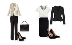 Aprende a actualizar los clásicos trajes de oficina. #looksoficina #trabajo #looks #estilismos