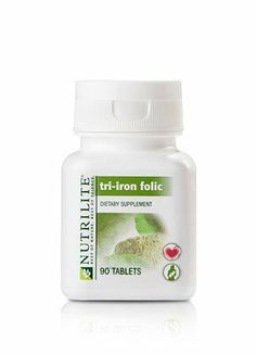 Nutrilite Tri-Iron Folic by Nutrilite Tri-Iron Folic. $26.87. NUTRILITE Tri-Iron Folic contains A unique blend of iron from 3 sources - iron bisglycinate, iron fumarate, and mustard greens, one of nature's richest plant sources of iron Vitamin C, to increase the absorption of iron fumarate and iron bisglycinate 200 mcg of folic acid to promote heart health and help maintain homocysteine levels that are already within the normal range