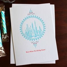 Image of New York City Holiday Cards - set of eight