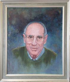 Retrato de mi padre, por Carmen Rey. 2016, óleo sobre lino.