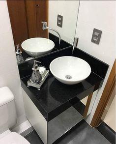 Banheiro apartamento pequeno.