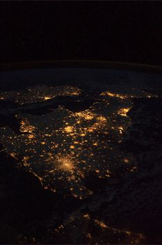United Kingdom & Ireland as seen from the International Space Station