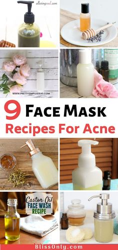 9 DIY Face Wash Recipes For All Skin Types - BlissOnlyTry these 9 Best DIY Face Wash Recipes for all skin types. In this post, you will get the face wash recipes for acne, oily, Homemade Face Cleanser, Homemade Face Wash, Natural Face Cleanser, Cleanser For Oily Skin, Facial Cleanser, Homemade Moisturizer, Oil Face Wash, Charcoal Face Wash, Best Face Wash