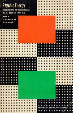 Psychic Energy by M. Esther Harding. Book cover design by Paul Rand.