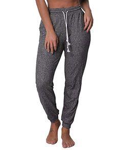 105c8dd7e083 SUNNYME Femme Pantalon de Sport Pants Jogging Gym Survêtement Yoga Haut  Taille avec Poches