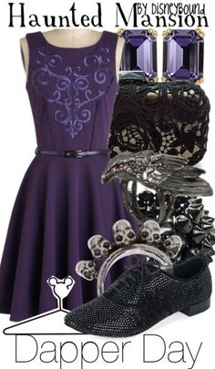 Haunted Mansion ~ I would not go on that ride for the longest time and now it is my favorite along with this outfit