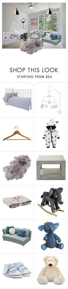 """Baby room"" by isobeldudleyowen ❤ liked on Polyvore featuring interior, interiors, interior design, home, home decor, interior decorating, Tartine et Chocolat, Saro, Serena & Lily and Garbo & Friends"
