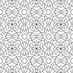 Cuneos part one (black and white version) fabric by samvanvoorst on Spoonflower - custom fabric