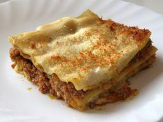 Recetas Monsieur Cuisine: Lasaña