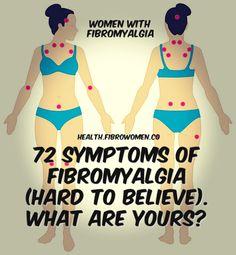 72 Symptoms of Fibromyalgia (Hard to Believe). Fibromyalgia Disability, Fibromyalgia Pain Relief, Fibromyalgia Flare, Fibromyalgia Syndrome, Treating Fibromyalgia, Chronic Fatigue, Chronic Illness, Chronic Pain, Sinus Allergies