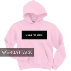 unique for retro light pink color Hoodie