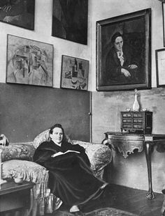 Understanding Steinese: Adam Gopnik on Gertrude Stein's infectious style http://nyr.kr/145xAX5 (Photograph: Library of Congress)