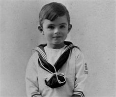Favorite Scientists As Children-Alan Turing
