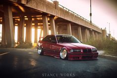 Shaun Quills BMW E36 328is on O.Z. Breyton Wheels stanced and slammed. Full specs on website.