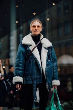 New York Fashion Week Street Style | British Vogue... - Total Street Style Looks And Fashion Outfit Ideas
