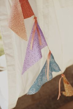 Just can't get enough of these fabric/ribbon banners