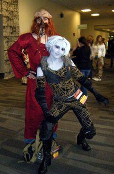 Dargo and Chiana Farscape Costumes #cosplay