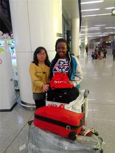 Stancy & Shenyang , What Happened ?  Stancy, from Nigeria , was admitted by Shenyang Medical University. She was picked up by SICAS Student Care Team Member Lilian. And with the help of Lilian , Stancy lived in her room smoothly.